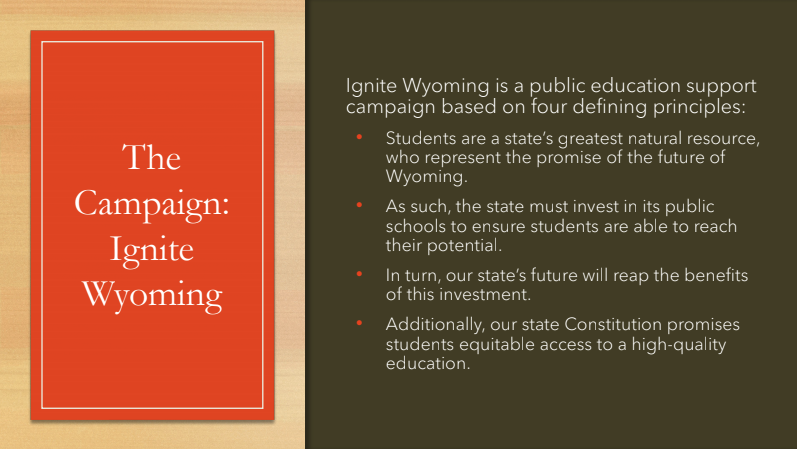 Ignite Wyoming Campaign