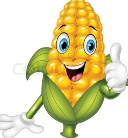 corn with thumbs up