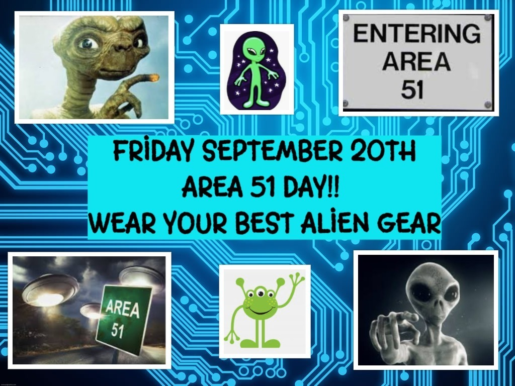 Area 51 day Sept 20th