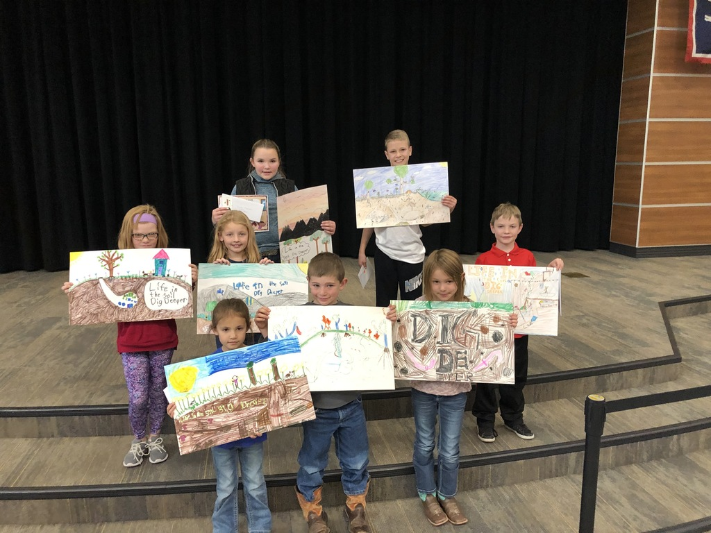Fremont County Conservation District Poster Contest Winners