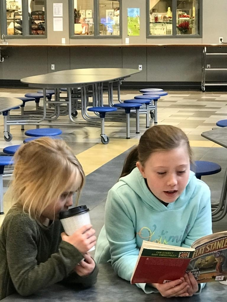 4th grade reading to first grade
