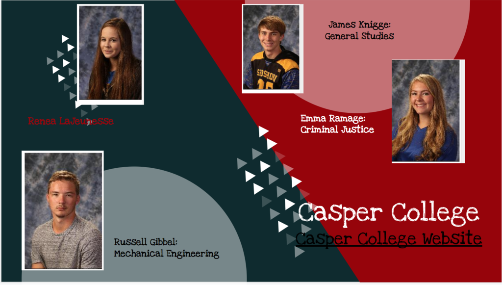Virtual Signing Day - Casper College